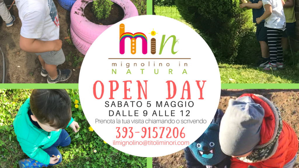 Open Day Mignolino in Natura