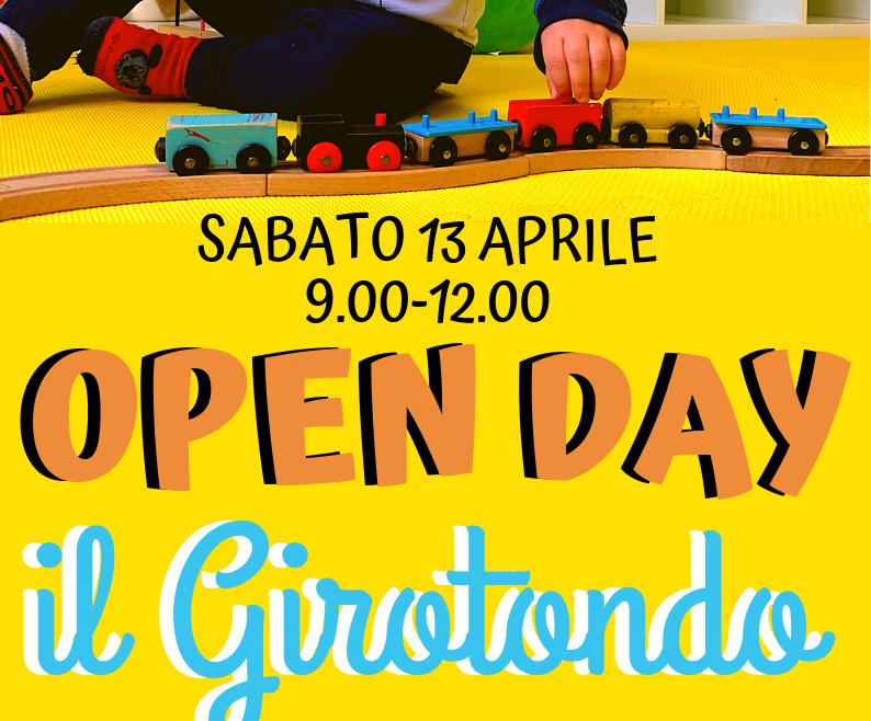 """OPEN DAY AL NIDO """"IL GIROTONDO"""""""