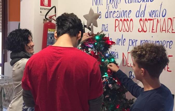 """Il Natale alla Comunità educativa """"In-Patto"""""""