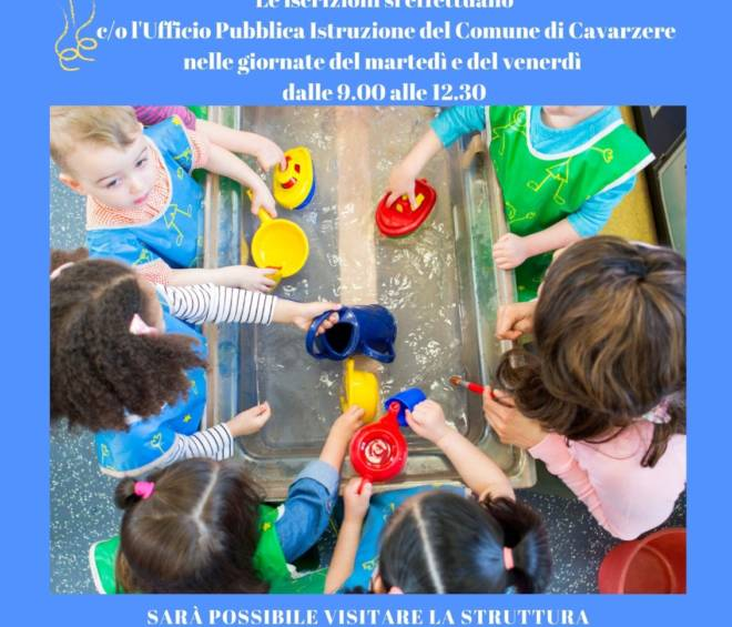 Open Day del 7 marzo RINVIATO! Vi aspettiamo il 18 Aprile.