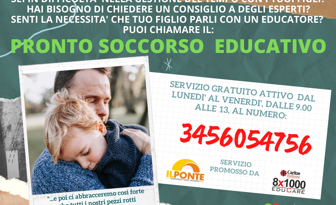 PRONTO SOCCORSO EDUCATIVO
