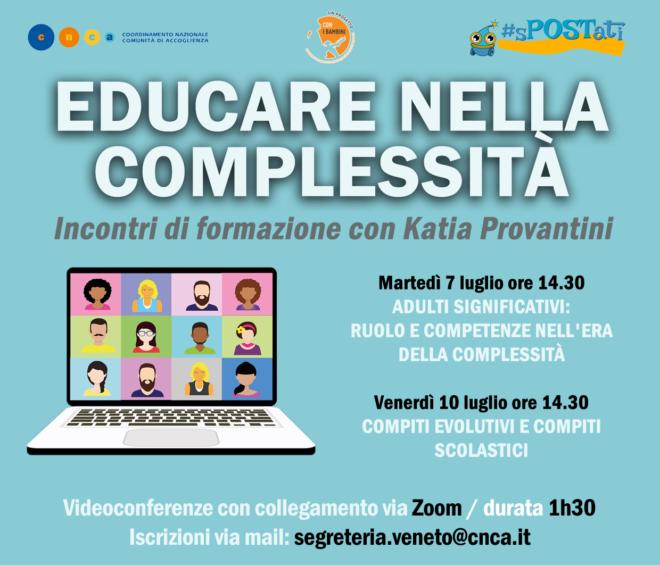 Educare nella complessità: due webinar per connettersi alle giovani generazioni