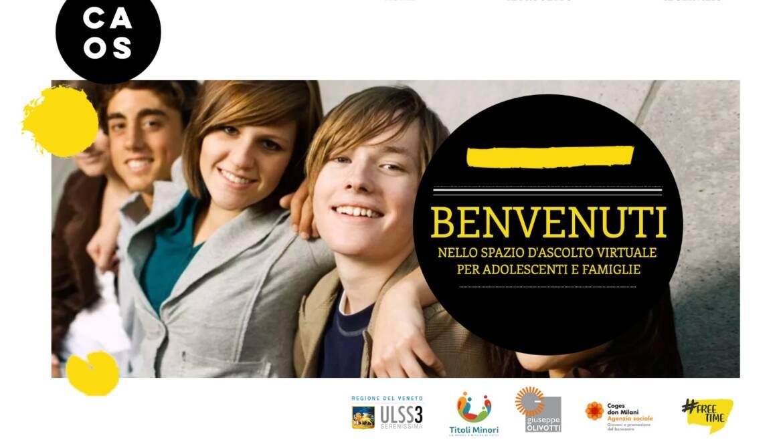 CAOS-Sportello virtuale adolescenti